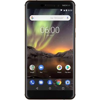 "Telefon mobil NOKIA 6.1 Dual Sim 2018 Copper Black, 5.5"", RAM 3GB, Stocare 32GB"