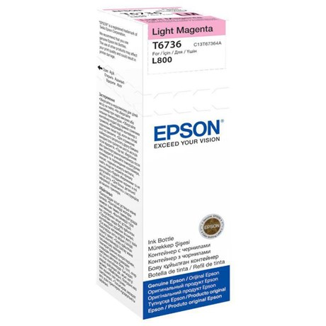 Cartus cerneala Epson T6736, light magenta, capacitate 70ml