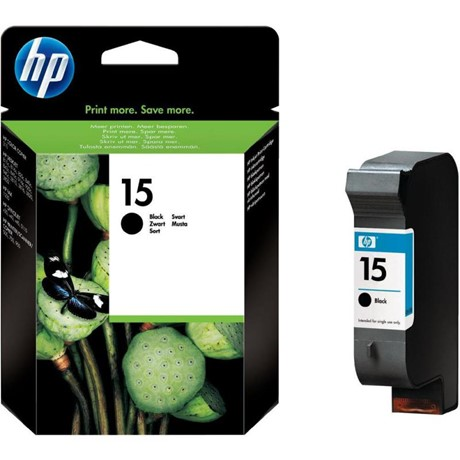 Cartus cerneala HP 15 Large Black - C6615DE