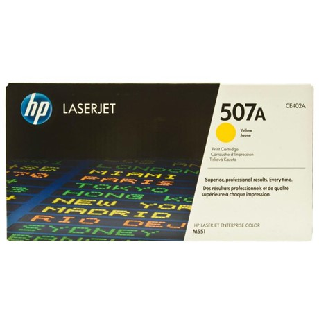 Cartus Toner HP 507A CE402A Yellow