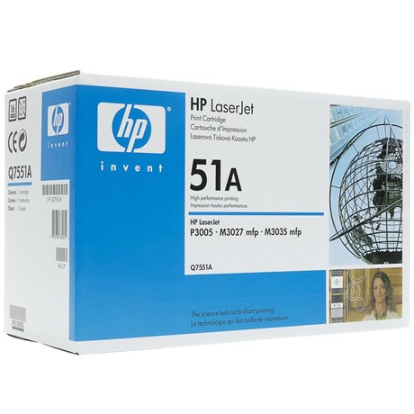 Cartus Toner HP Q7551A Black