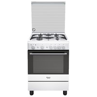 (RESIGILAT) Aragaz Hotpoint Ariston H6GG1F (W) IT