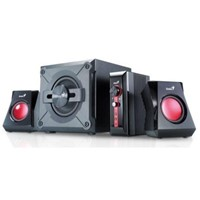 Boxe Genius SW-G2.1 1250 Black, 38W(Subwoofer 20W+2 sateliti*9W), Gaming speakers, 31730980100