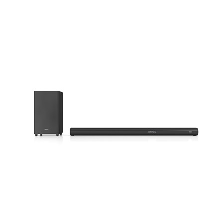 Soundbar HORIZON 5.1.2 HAV-H8700, 380W, Dolby Atmos, Wireless subwoofer, 3x HDMI (1x HDMI ARC), Optical, Coaxial, AUX, Bluetooth 4.2, USB, Telecomanda, Negru