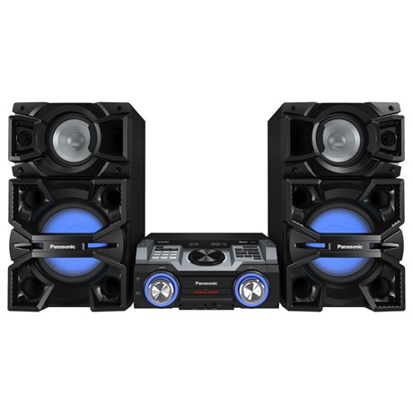 Sistem audio Panasonic SC-MAX4000EK, 2400 W, Woofer, CD, NFC, Bluetooth, 2 GB memorie, Negru