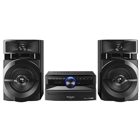 Sistem audio Panasonic SC-UX100E-K, 300 W, CD, Radio, Bluetooth, Negru