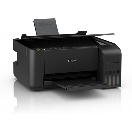 Multifunctional inkjet color Epson EcoTank CISS L3150, A4, Printare borderless, USB 2.0, Wi-Fi