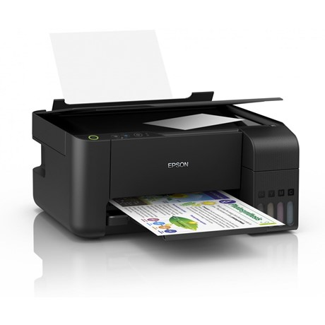 Multifunctional inkjet color CISS Epson L3110, A4, USB 2.0