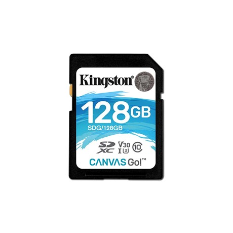Card de Memorie SDXC Kingston, 128GB, CLASS 10 U3 V30I, 90/45 MB/s