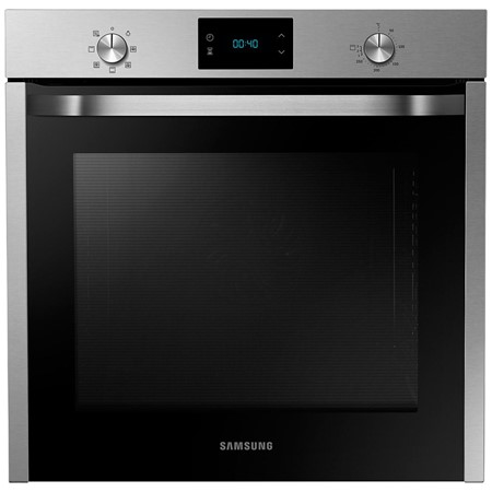Cuptor incorporabil Samsung NV75J3140BS, Multifunctional, 75 l, A, Convectie, Catalitic, Inox