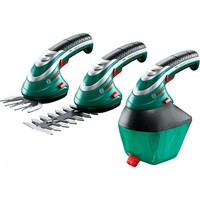 Foarfece de gradina electrice Bosch ISIO3 grass+shrub+sprayer