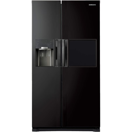 Frigider Side by Side Samsung RS7778FHCBC, No Frost, 543 l, A++, Dozator, Twin Cooling Plus®, H 178.9 cm, Negru