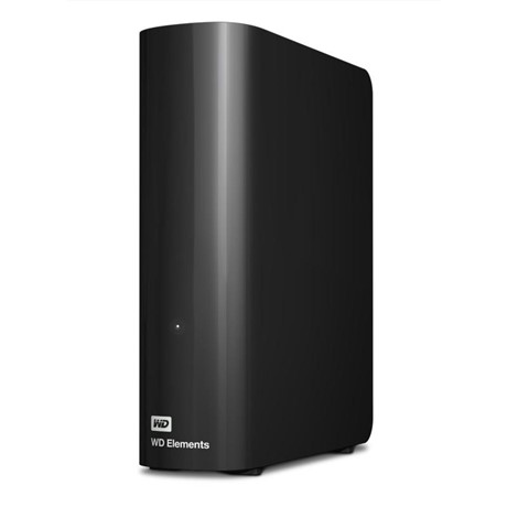 Hard disk extern WD Elements Desktop 2TB, Black
