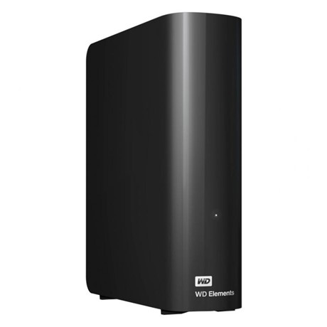 Hard disk extern WD Elements Desktop 3TB, black