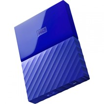 "HDD extern WD My Passport, 4TB, 2,5"" USB 3.0, albastru"