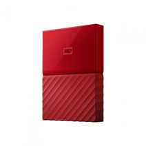 "HDD extern WD My Passport, 4TB, 2,5"" USB 3.0, rosu"