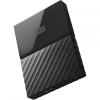 "HDD extern WD My Passport, 1TB, 2,5"" USB 3.0, negru,"