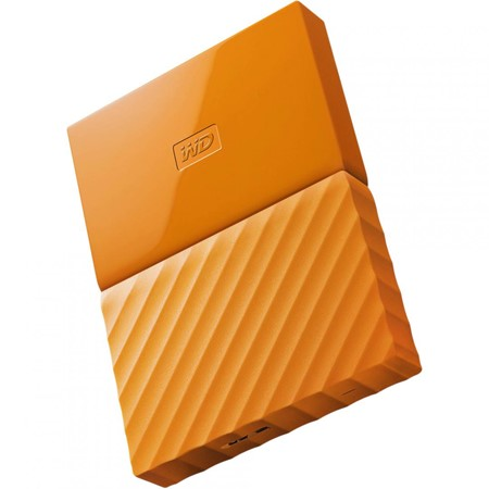 "HDD extern WD My Passport, 1TB, 2,5"" USB 3.0, portocaliu"