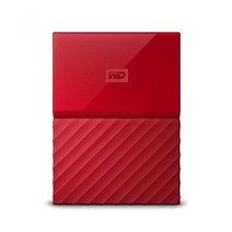 "HDD extern WD My Passport, 1TB, 2,5"" USB 3.0, rosu"