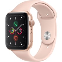 Smartwatch Apple Watch 5, Gold Aluminium Pink Sand Sport Band