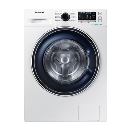 Masina de spalat rufe Samsung Eco Bubble WW70J5345FW, 7kg, 1200rpm, A+++, Display, Alb