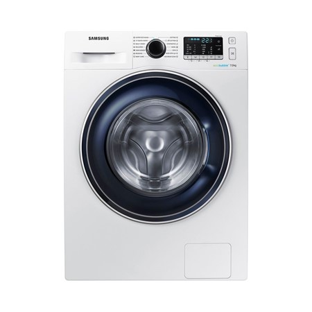 Masina de spalat rufe Samsung Eco Bubble WW70J5545FW, 7kg, 1400rpm, A+++, Display, Alb