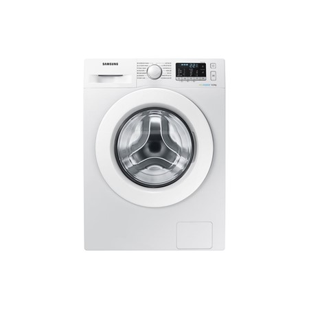Masina de spalat rufe Samsug Eco Bubble WW80J5345MW, 8kg, 1200rpm, A+++, Display, Alb