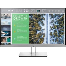 "Monitor HP EliteDisplay E243 23.8"", LED, IPS, Full HD, 5 ms, HDMI, VGA, DisplayPort, USB 3.0, Argintiu"