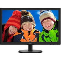 "Monitor LED Philips 223V5LHSB2/00 21.5"" 5ms Black"