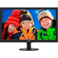 "Monitor LED Philips 273V5LHSB 27"" 5ms Black"