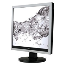 "Monitor LED AOC e719sda 17"" 5 ms silver"