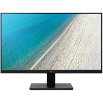 "Monitor LED Acer V247Ybi, 23.8"", Full HD, 4 ms GTG, VGA, HDMI, Negru"