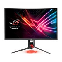 "Monitor gaming curbat ASUS XG27VQ, 27"", Full HD, 4 ms, HDMI, DisplayPort, Negru/rosu"