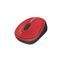 Mouse Wireless Microsoft 3500, USB, Flame Red Gloss