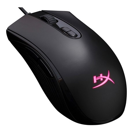 Mouse Kingston cu fir, HYPERX Pulsefire Core, Pixart 3327 sensor, 6.200 DPI, RGB, Negru