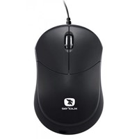 Mouse Serioux mini Rainbow 680, USB, negru