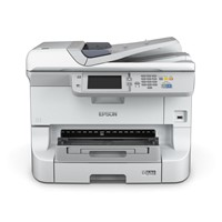 Multifunctional inkjet color Epson Workforce WF-8510DWF, dimensiune A3+ (Printare, Copiere, Scanare, Fax), duplex, viteza 34ppm
