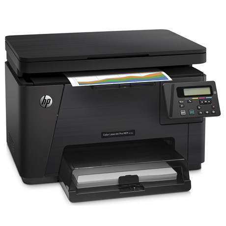 Multifunctional HP LaserJet Pro MFP M176n, laser color, A4