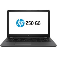 Laptop HP 250 G6, 15.6 inch LED HD Anti-Glare, Intel Celeron N3060, RAM 4GB, HDD 500GB, DVD+/-RW,  Free DOS