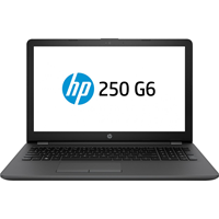"Laptop HP 250 G6, 15.6"" LED , Intel Core i3-7020U, RAM 4GB DDR4, HDD 1TB, Free DOS + geanta"