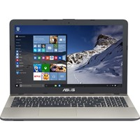"Laptop Asus VivoBook MAX A541NA-GO180T, 15.6"" HD LED, Intel Celeron Dual Core N3350, RAM 4GB, HDD 500GB, Windows 10 Home, Chocolate Black"