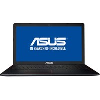 Laptop Asus F550VX-DM641, 15.6 FHD LED Anti-Glare, Intel Core i7-7700HQ, nVidia GTX 950M 4GB, RAM 8GB DDR4, HDD 1TB, Free DOS, Glossy Black