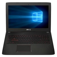 "Laptop Asus FX502VM-DM105T, 15.6"" FHD LED Anti-Glare, Intel Core i7-6700HQ, nVidia GTX 1060 3GB, RAM 8GB DDR4, HDD 1TB, Windows 10 Negru"
