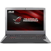 "Laptop Asus ROG G752VL-GC088D, 17.3"" FHD LED Anti-Glare IPS, Intel Core i7-6700HQ, nVidia GTX 965M 2GB, RAM 16GB DDR4, HDD 1TB, DOS, Dark grey"