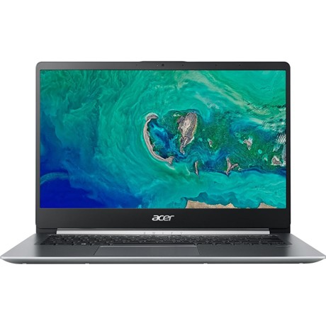 "Laptop Acer Swift 1 SF114-32-P9HN, 14"" FHD IPS, Intel Pentium N5000, RAM 4GB DDR4, SSD 128GB, Bootable Linux, Silver"