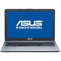 "Laptop Asus VivoBook MAX X541NA-GO017, 15.6"" HD LED, Intel Celeron Dual Core N3350, RAM 4GB DDR3L, HDD 500GB, Endless OS, Silver"