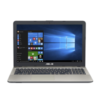Laptop Asus VivoBook Max X541UA-DM1231, 15.6 FHD LED Anti-Glare, Intel Core i3-6006U, RAM 4GB DDR4, SSD 128GB, EndlessOS, Chocolate Black