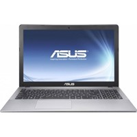 "Laptop Asus X550VX-XX015D, 15.6"" HD glare LED-backlit, i5-6300HQ, nVidia GTX-950M 2GB, RAM 4GB, HDD 1TB, DOS, Glossy gray"