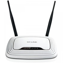Router Wireless TP-Link TL-WR841N RO, 2 antene fixe 5dBi, N300