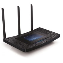Router Wireless TP-Link TOUCH P5, 3 antene detasabile, dual-band AC1900 (1300/600Mbps), 1xUSB3.0, 1xUSB2